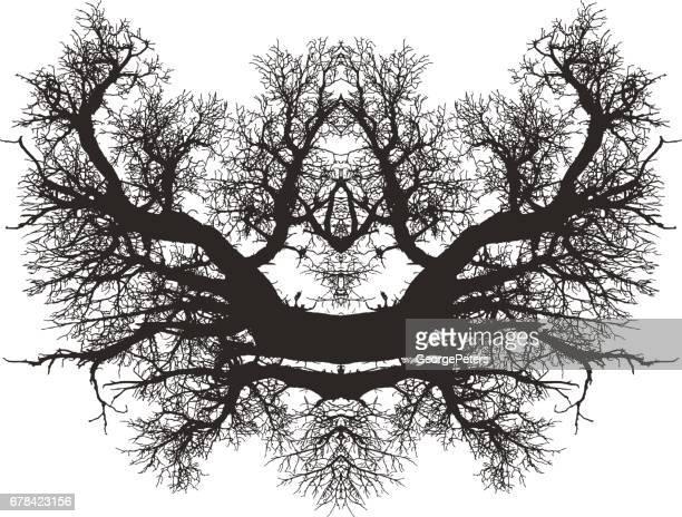 monument valley - cedar tree stock illustrations, clip art, cartoons, & icons