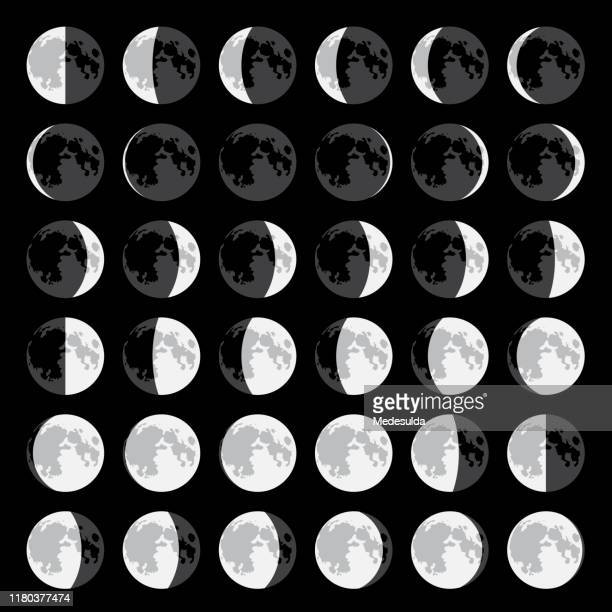 moon - moon stock illustrations