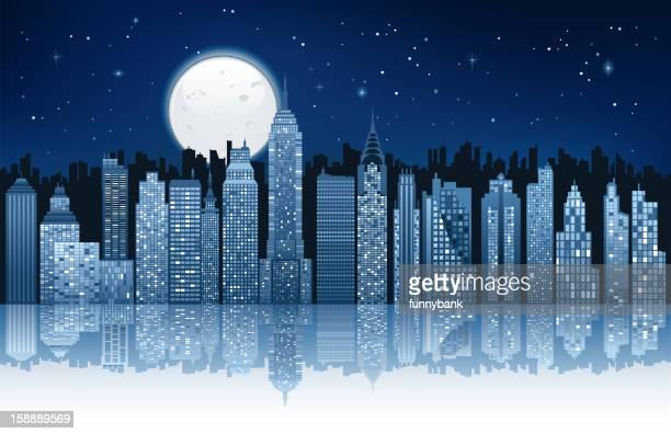 moonlight in new york city