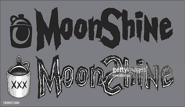 moonshine のツワモノおよびタイプ - 密造酒点のイラスト素材/クリップアート素材/マンガ素材/アイコン素材