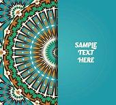Moorish Template With Text Input