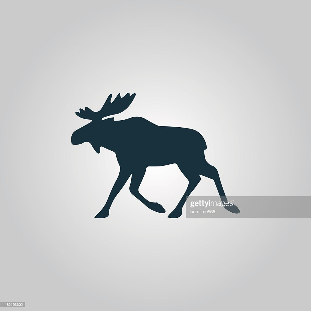 moose vector illustration