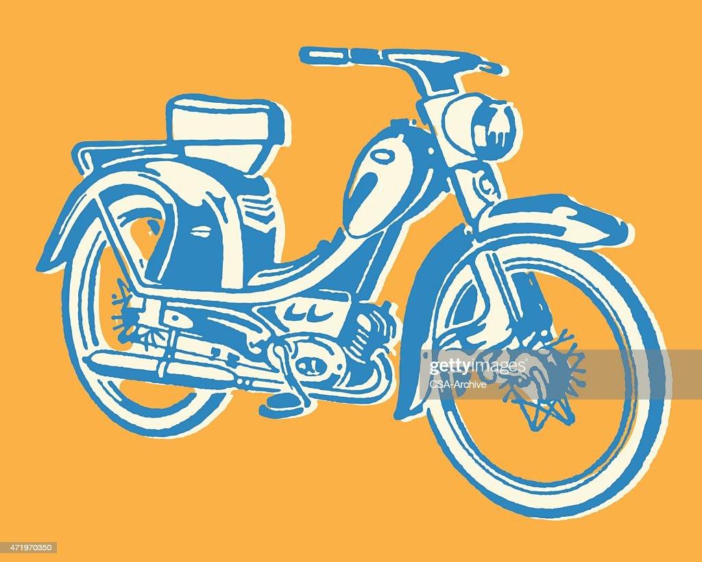 Moped : stock illustration