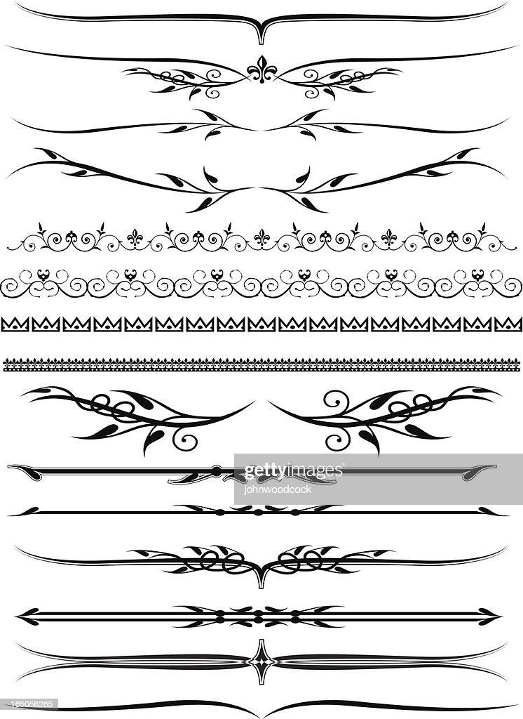 More decorative lines