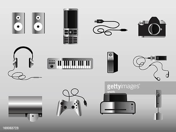 More Gadget Icons Metal
