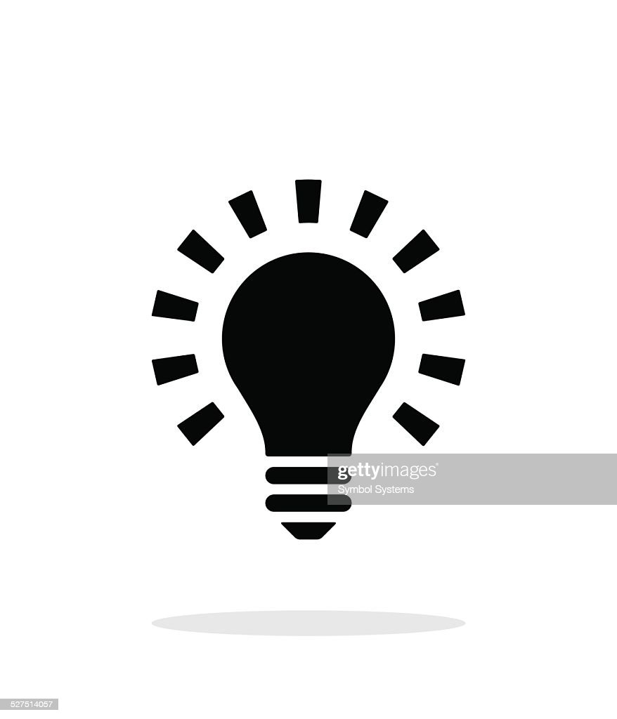 More light icon on white background.