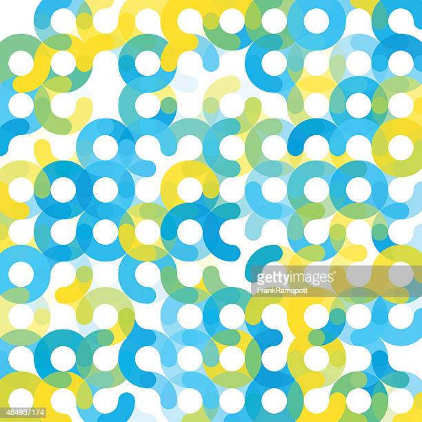 morgen geometrischen kreis muster square - frankramspott stock-grafiken, -clipart, -cartoons und -symbole
