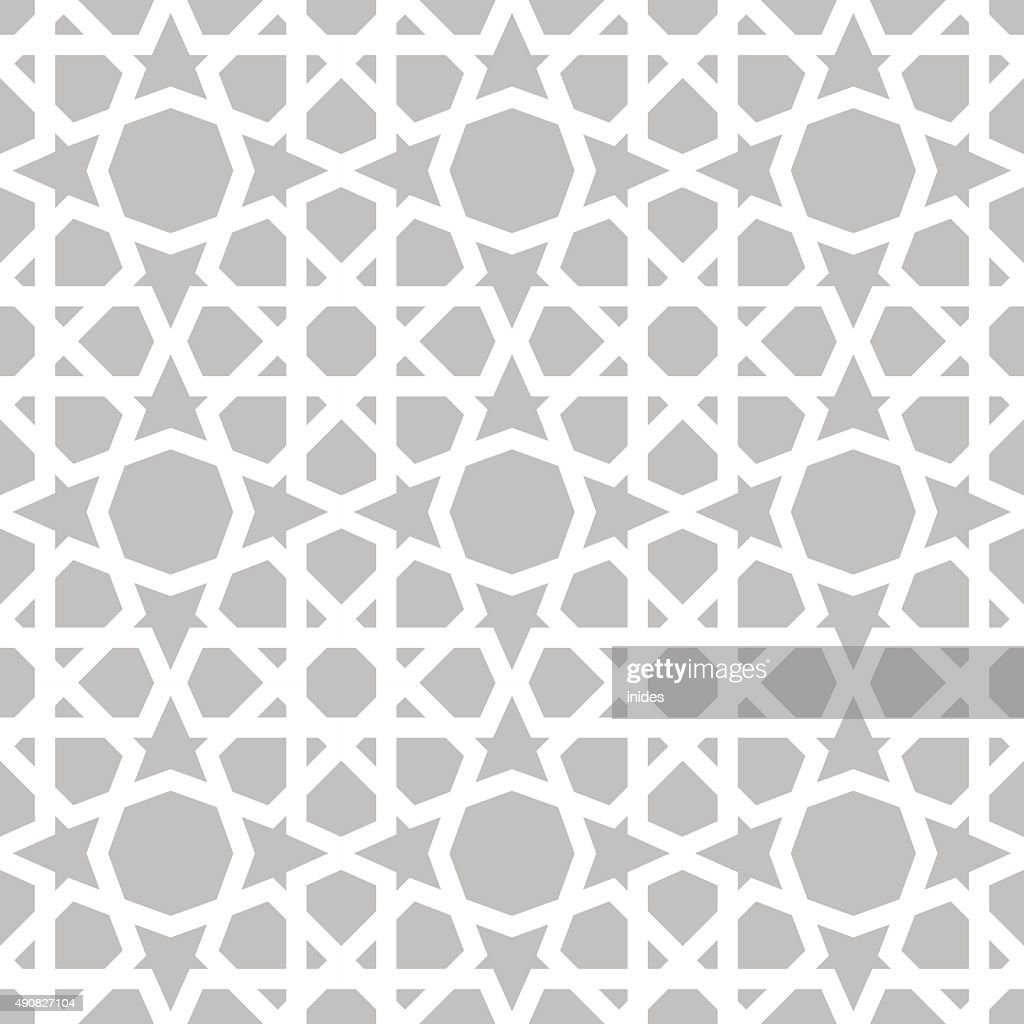 Moroccan pattern. Eastern traditional style