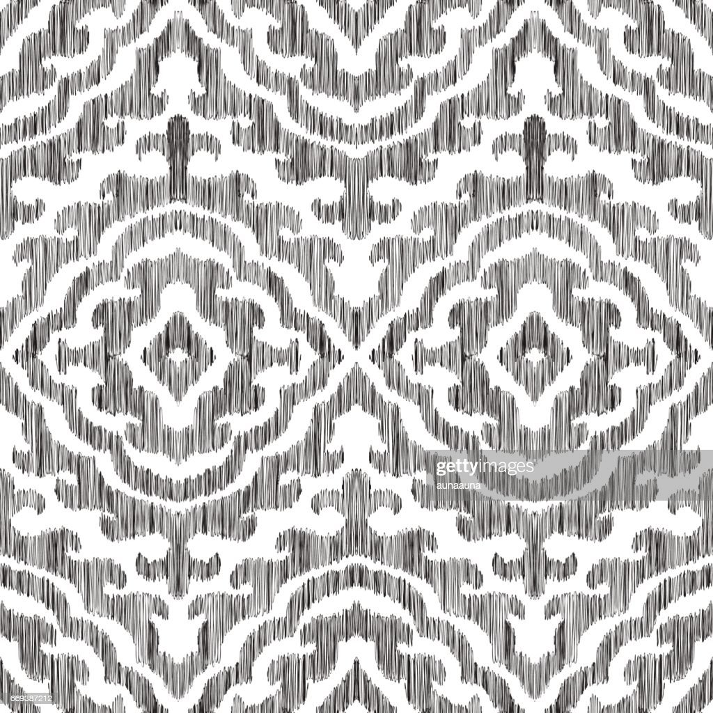 Moroccan seamless pattern.