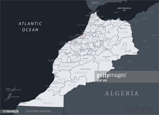 19 - morocco - black gray 10 - morocco stock illustrations, clip art, cartoons, & icons
