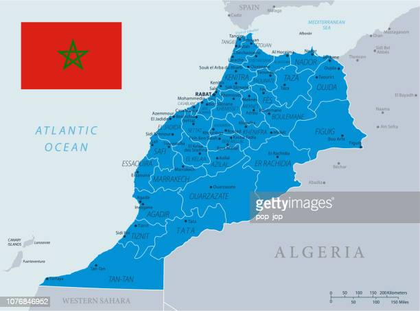 33 - Morocco - Blue Gray 10