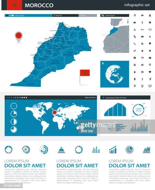 34 - Morocco - Blue Gray Infographic q10