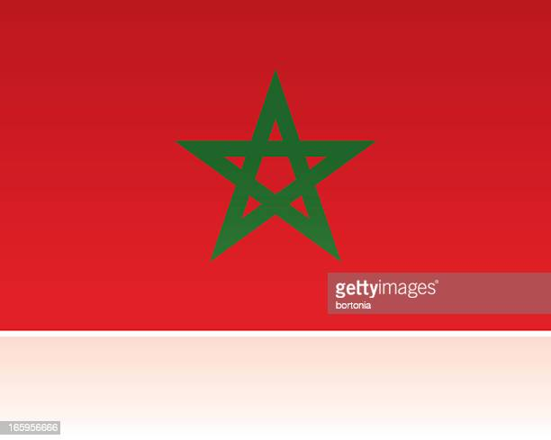 Morocco Country Flag, Northern Africa