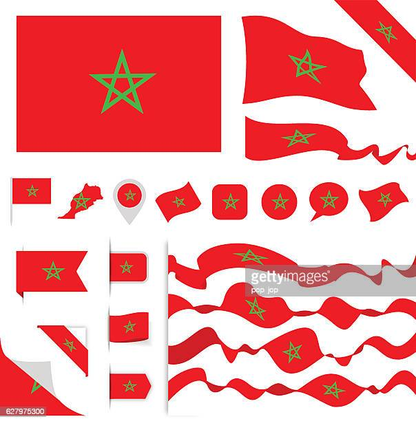 Morocco Flag Set