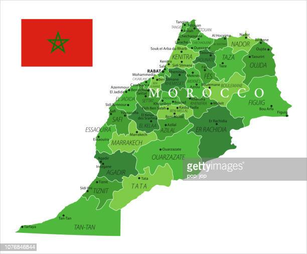 15 - Morocco - Green Isolated 10