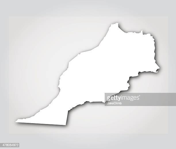 Morocco Silhouette White