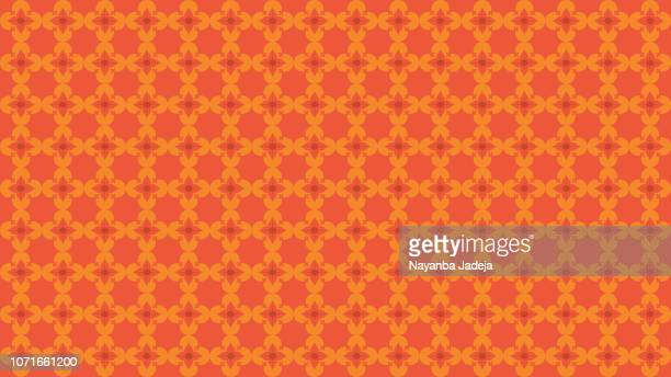 morocco style seamless background pattern - tradition stock illustrations