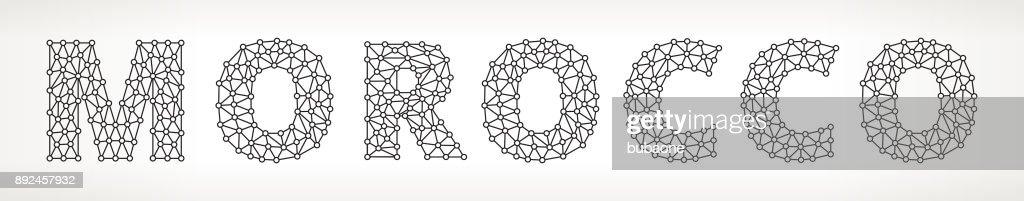 Morocco Triangular Vector Pattern : stock illustration
