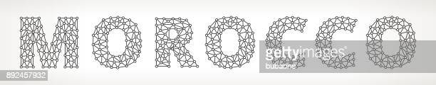 Morocco Triangular Vector Pattern