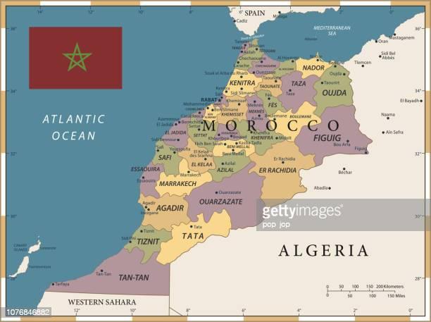 20 - Morocco - Vintage Color Dark