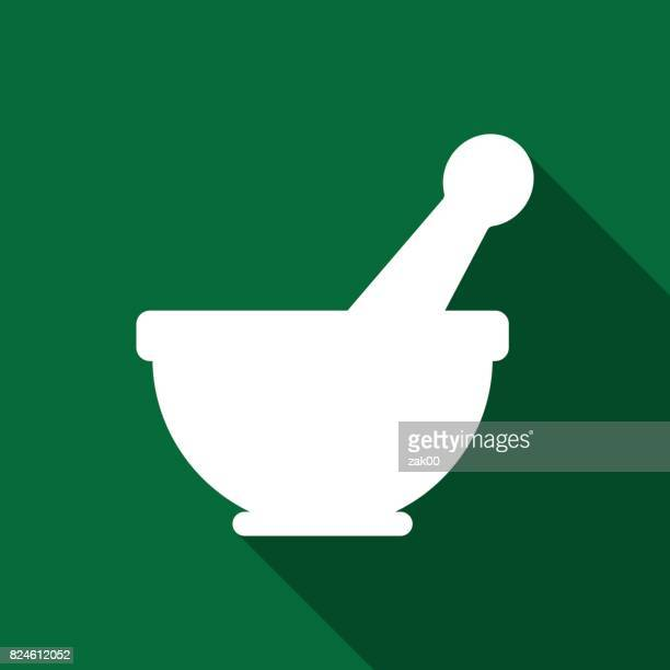 Mortar And Pestle Icons