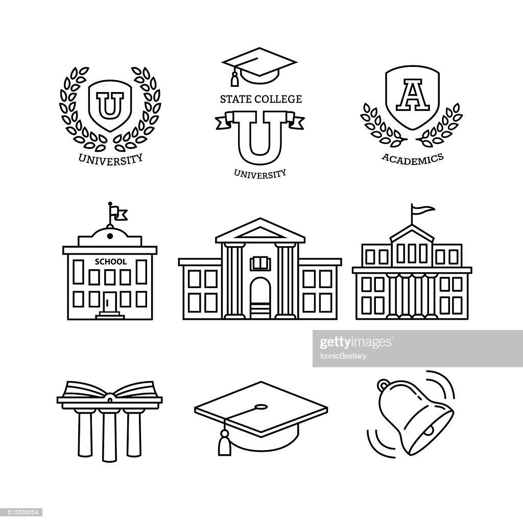 Mortar board, education, school and university