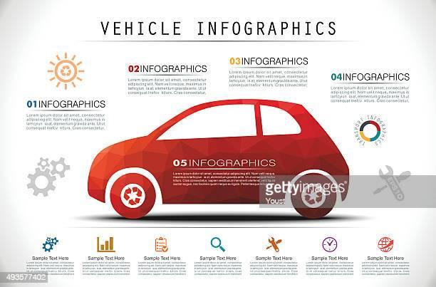 Mosaic de infografías