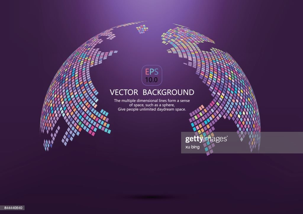 Mosaic world map abstract backgroundvector background vector art mosaic world map abstract backgroundvector background vector art gumiabroncs Choice Image