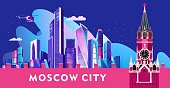 Moscow city banner