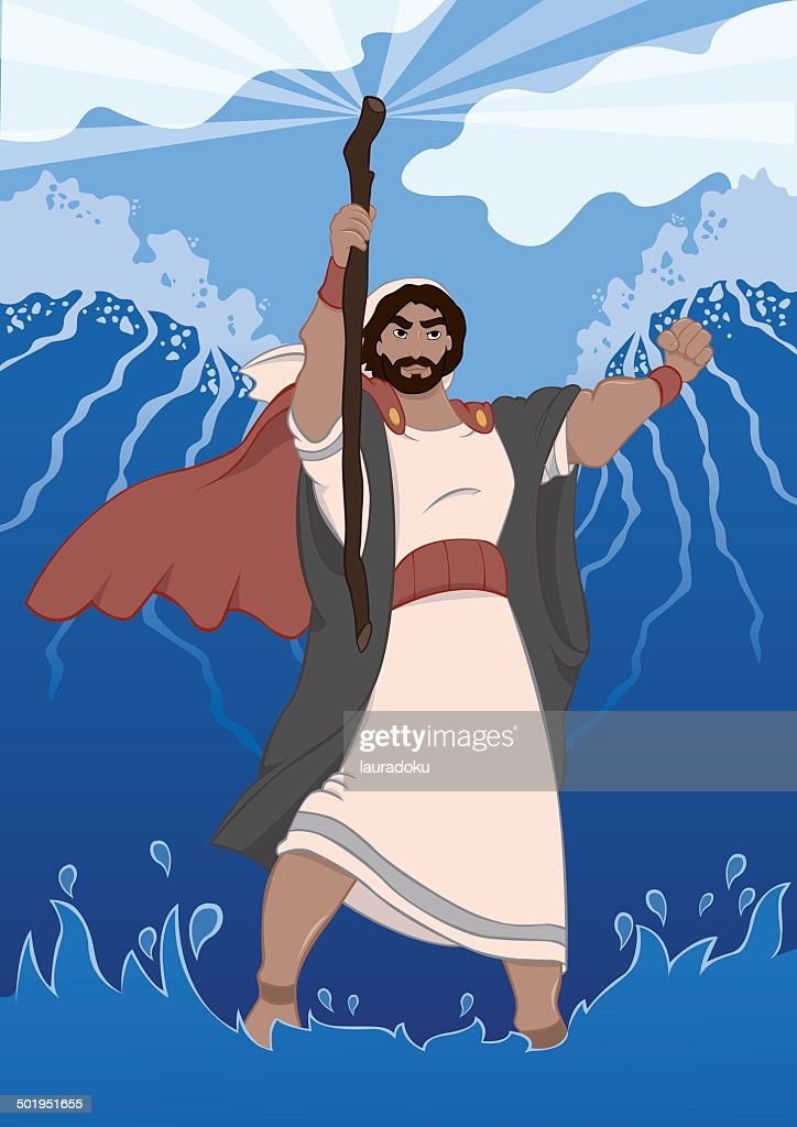Moses Dividing the Red Sea