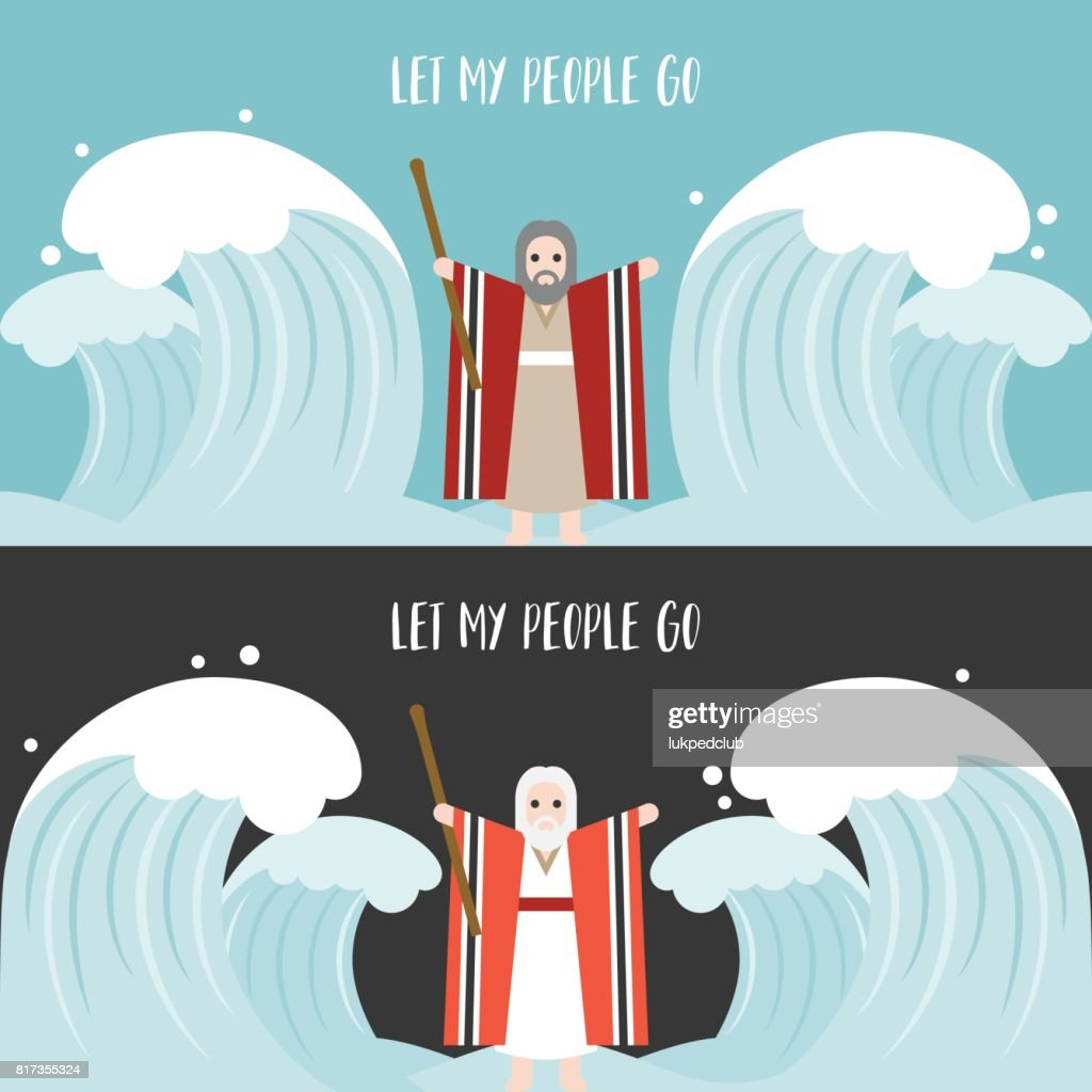 moses separate the sea in exodus