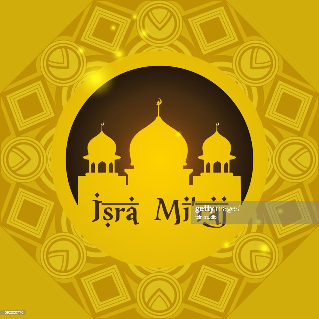 Mosque background design. Happy Eid.