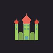 Mosque computer symbol