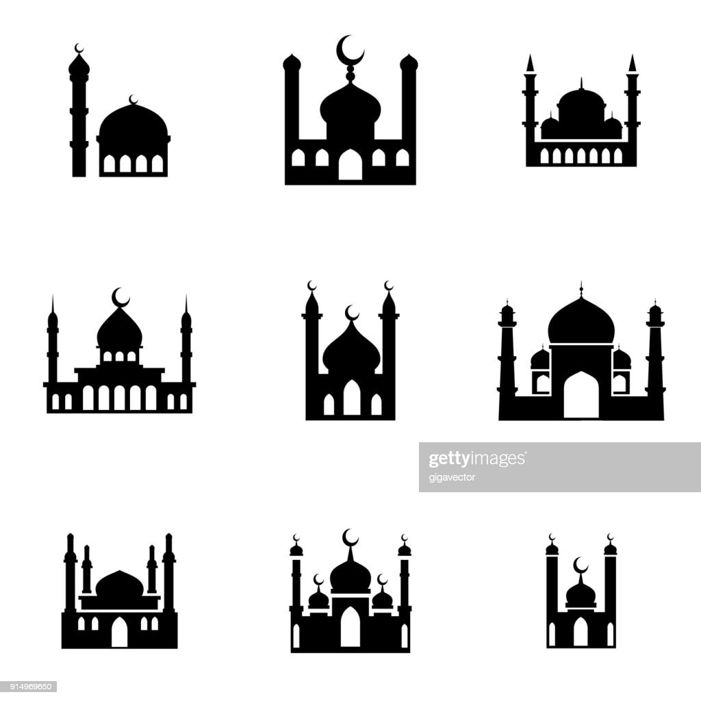 mosque icons