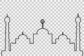 Mosque - Lines