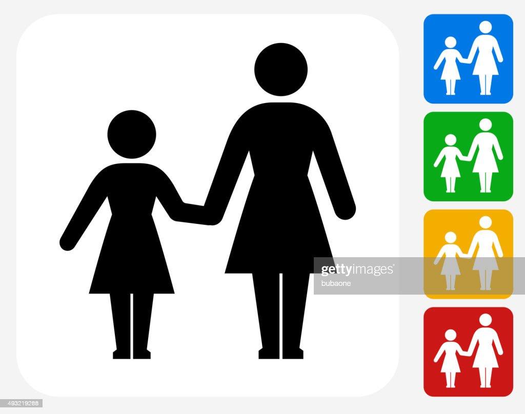 Mutter tochter symbol
