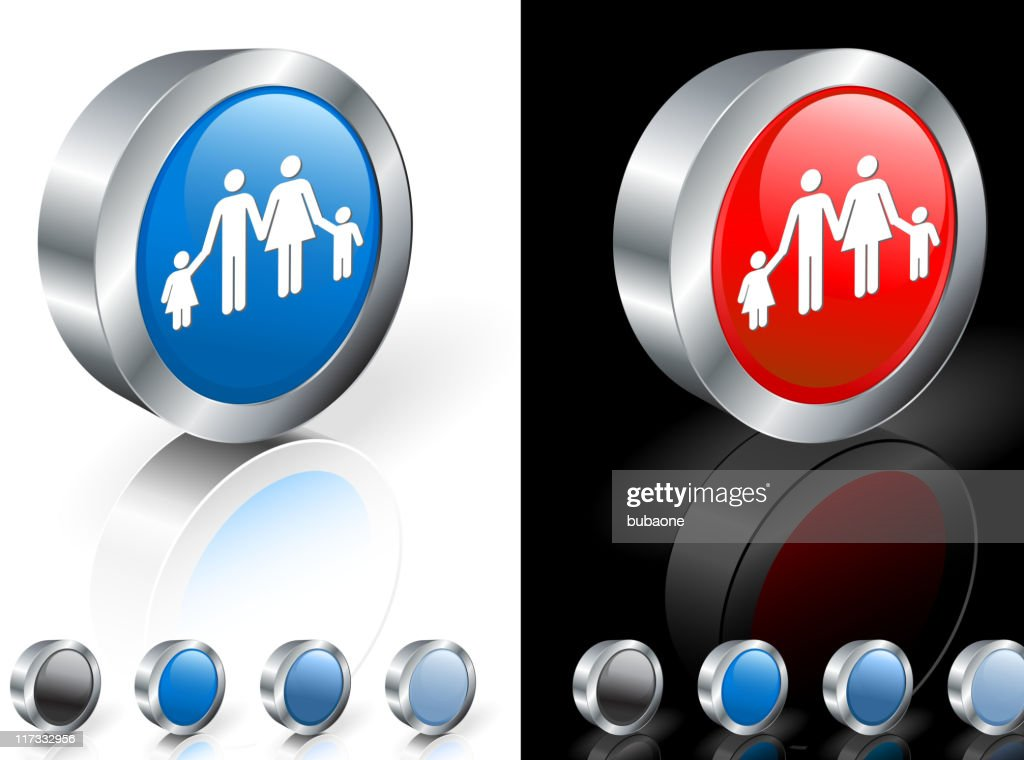 Mother father daughter and son family 3d vector icon vector art mother father daughter and son family 3d vector icon vector art biocorpaavc
