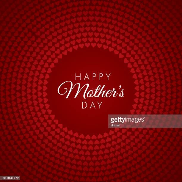 ilustraciones, imágenes clip art, dibujos animados e iconos de stock de tarjeta del día de la madre; medio - mothers day