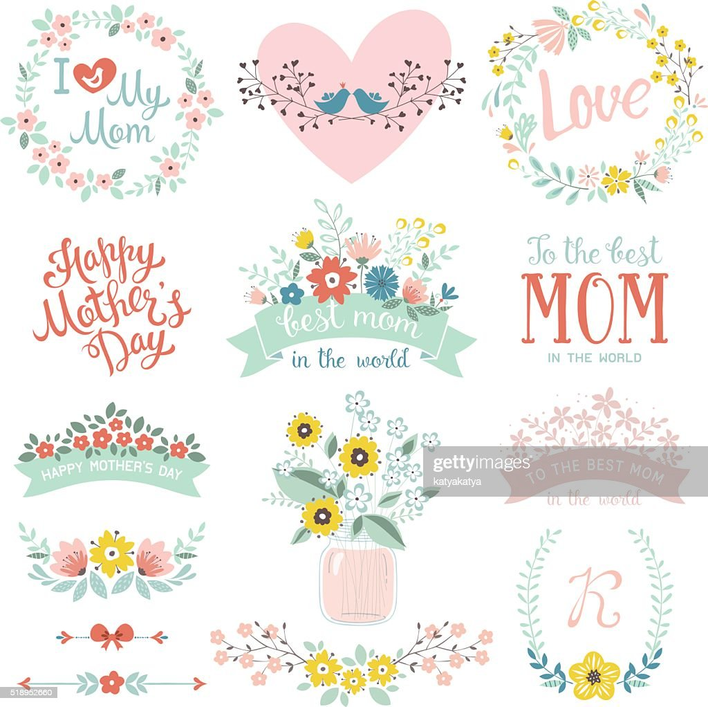 Mother's Day Design Set