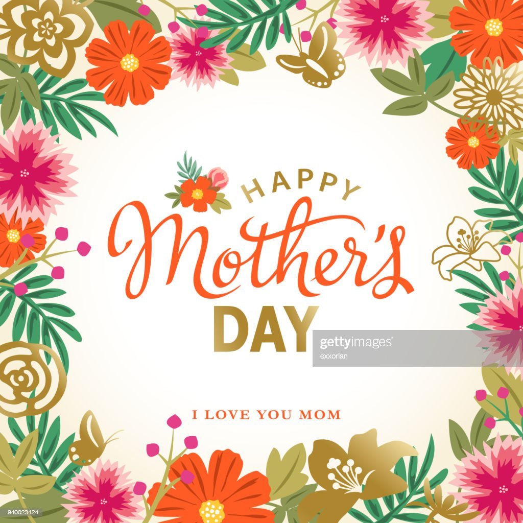 Amazing Mother S Day Frames Festooning - Picture Frame Design ...