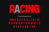 Motion effect font design