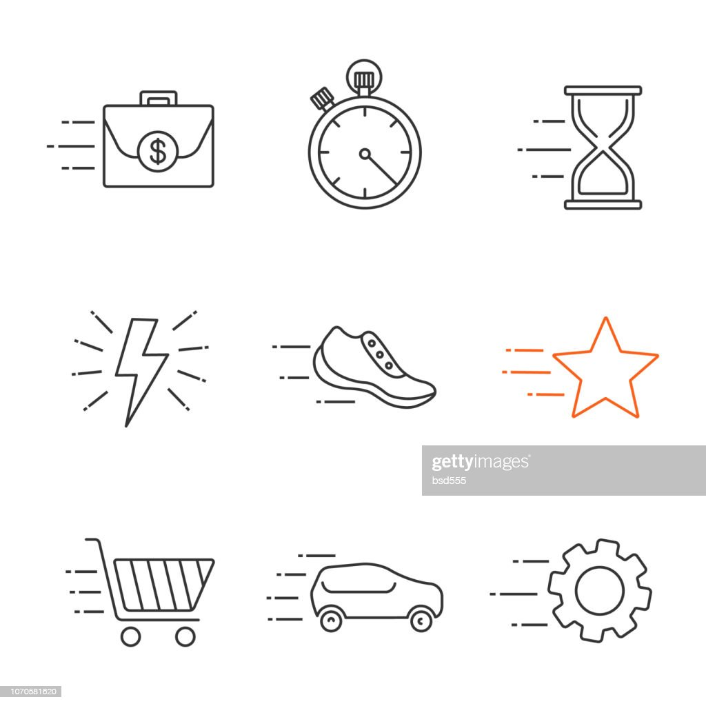 Motion icons