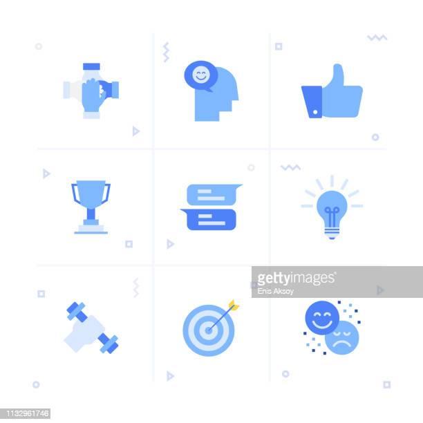 ilustrações, clipart, desenhos animados e ícones de jogo do ícone da motivação - influencer award