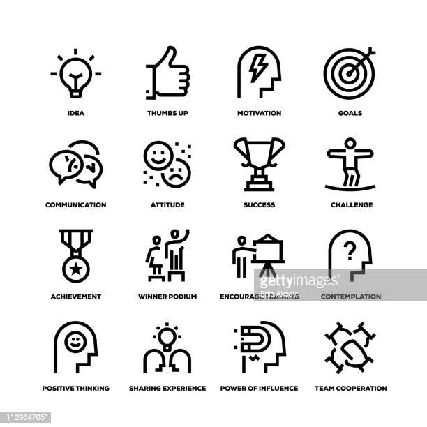 Motivation Line Icons