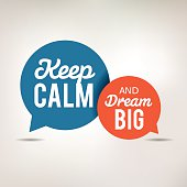 Motivation Quote - Keep Calm