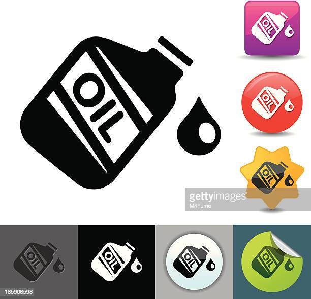 Motor oil icon | solicosi series
