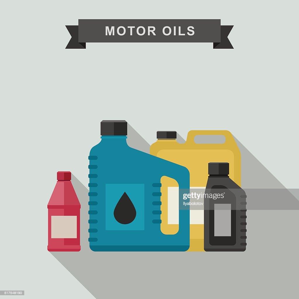Motor oils icon.