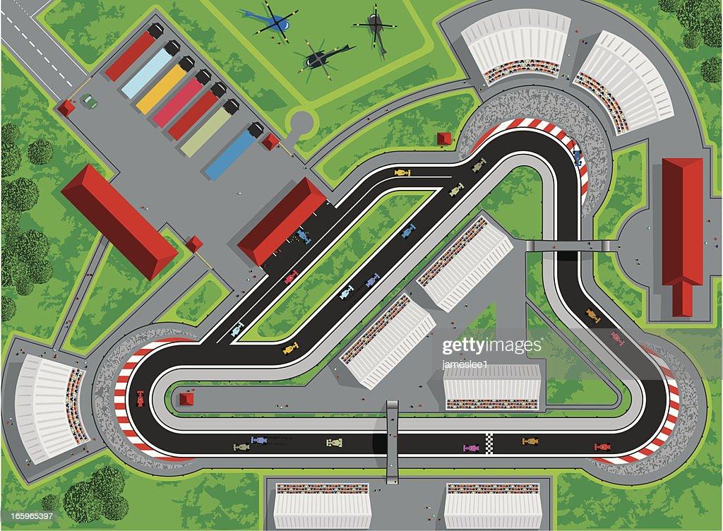 Motor Race : stock illustration