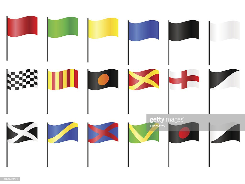 Motor Racing Flags