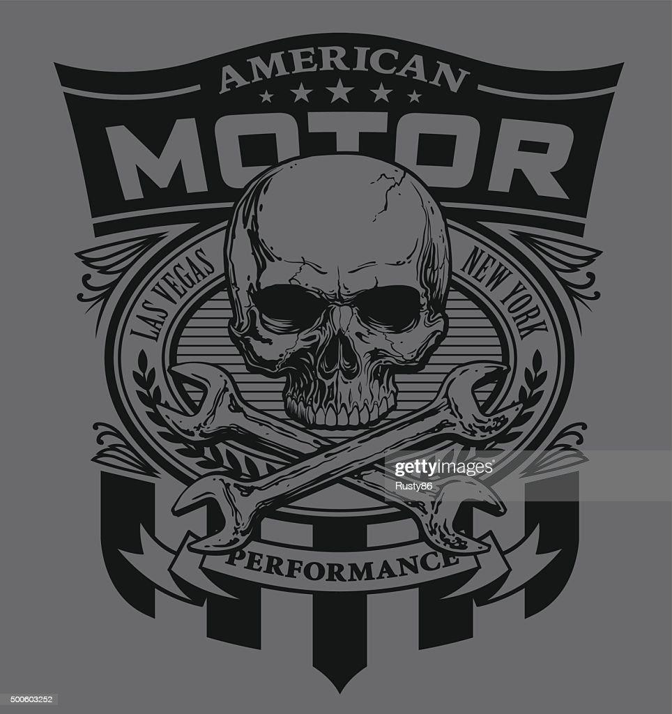 Motor skull shield design